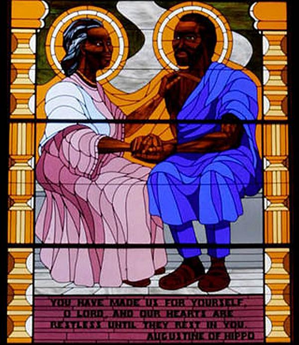 Santa Mônica e Santo Agostinho